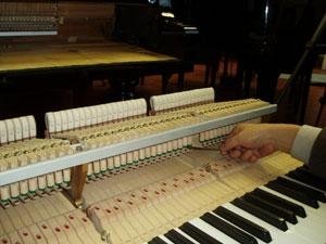 Klaveri reguleerimine